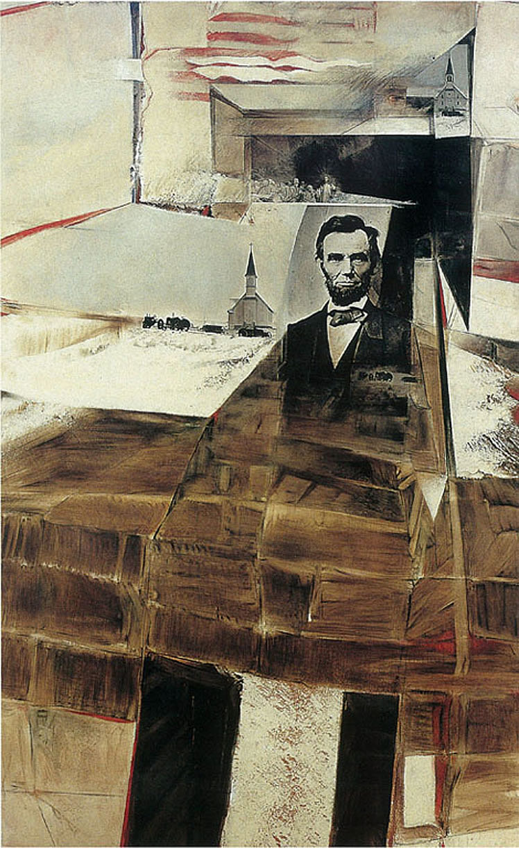 Herb Greene art Lincoln 2