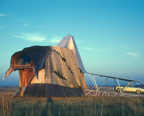 Herb Greene Prairie House 1961 organic architecture photo by Robert Alan Bowlby