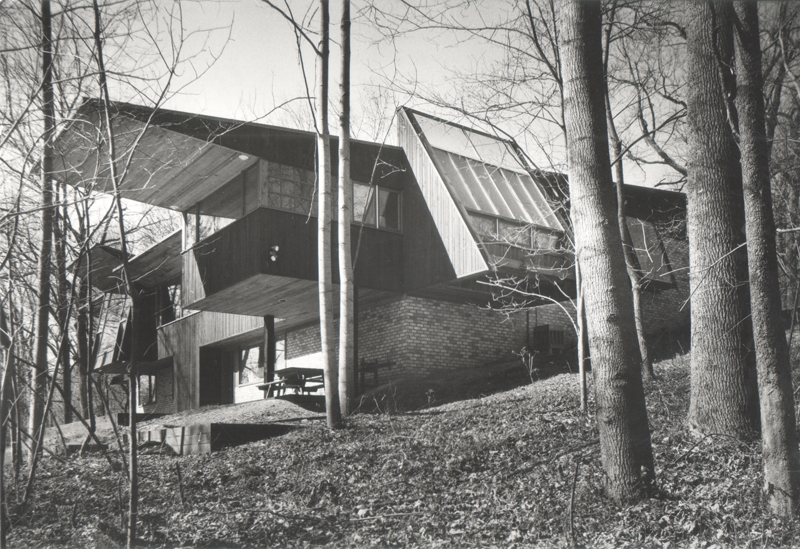 Cook Residence Exterior, Herb Greene