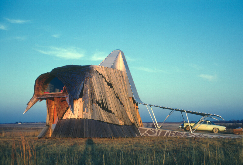Herb Greene Prairie House organic architecture Photo Robert Alan Bowlby
