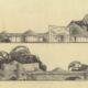 Mendel Residence elevations Herb Greene 1955 Krakower Studio Houston