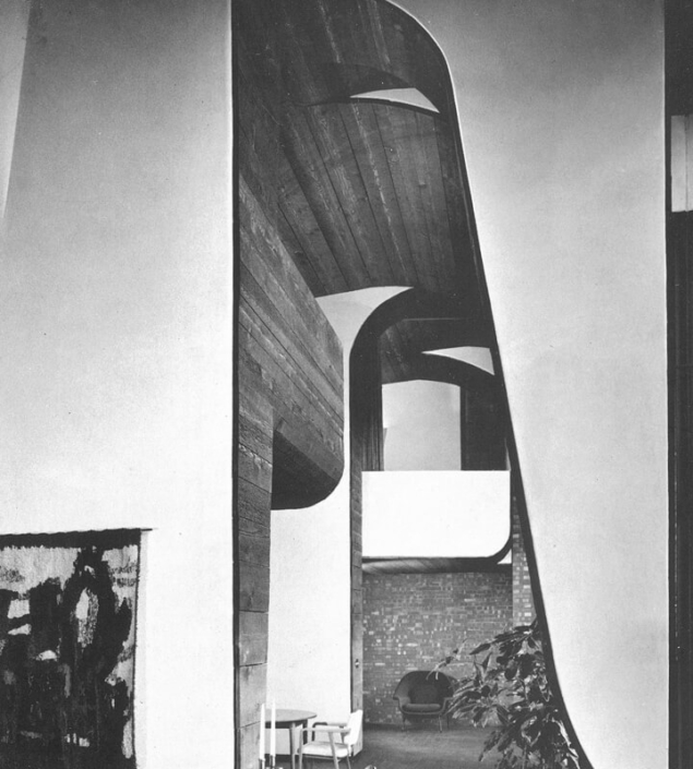 5.Cunningham Residence Interior 2-Herb Greene-Photo Julius Shulman