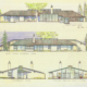 6.French Residence-elevation drawings-Herb Greene