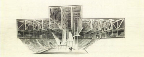 Theater in the Round, Conceptual, 1962, Oklahoma City, OK