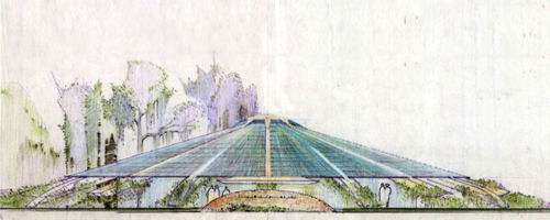 Temple Emanuel, Conceptual, 1957, Houston, TX